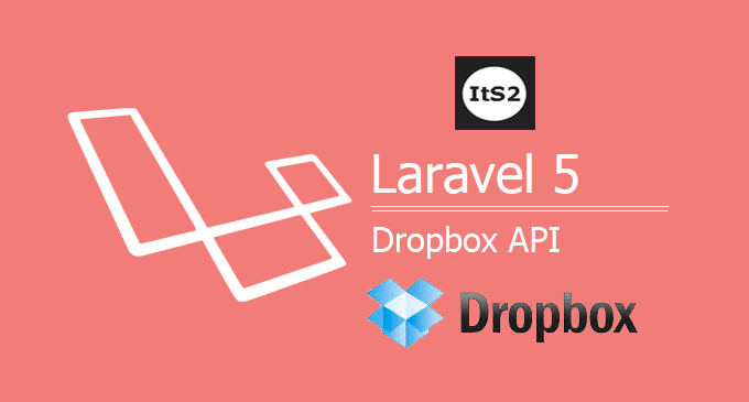 Laravel 5 dropbox api file upload example using league/flysystem-dropbox package