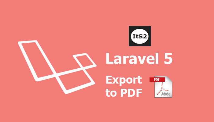 Laravel 5 export to pdf using maatwebsite example