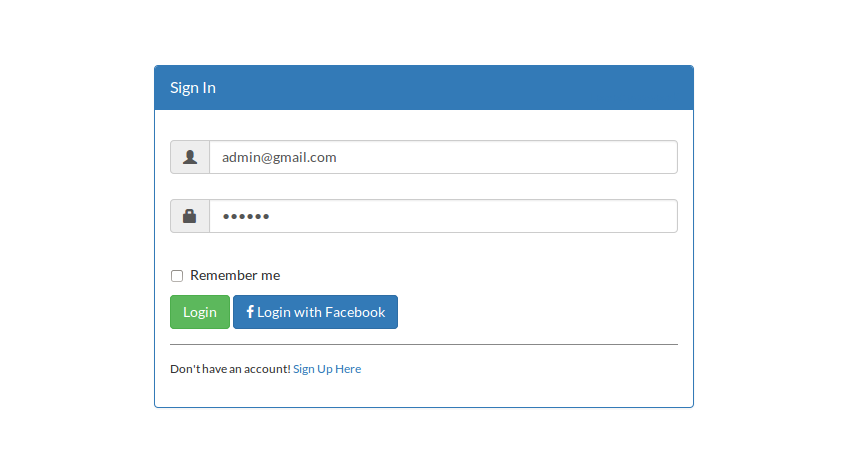 Laravel Facebook authentication using Socialite Package