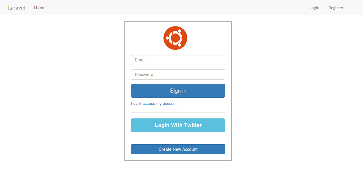 Laravel 5 Twitter OAuth using Socialite Package