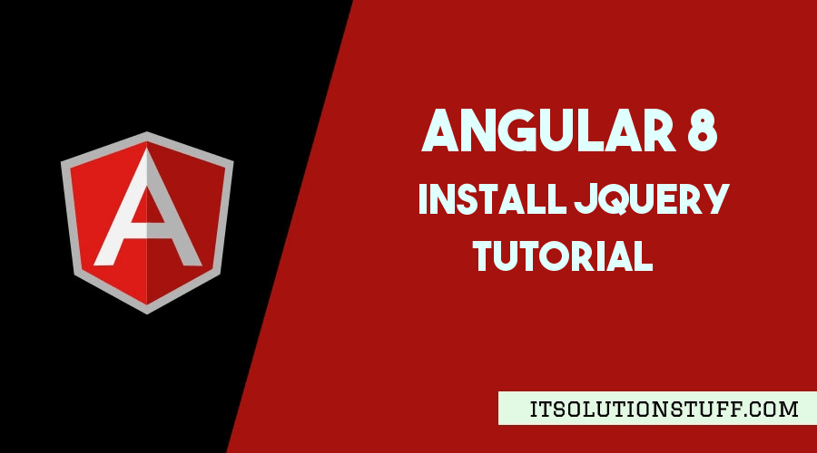 How to install jquery in Angular 8?