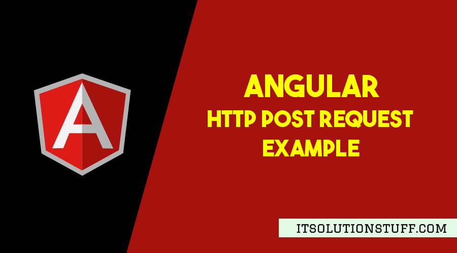 Angular Http Post Request Example
