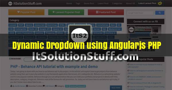 AngularJS Category - It Solution Stuff