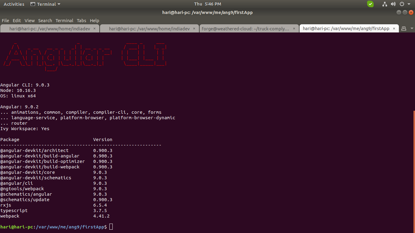 How to Uninstall and Reinstall Angular cli?