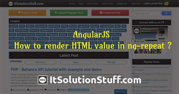 AngularJS - How to render HTML value in ng-repeat ?