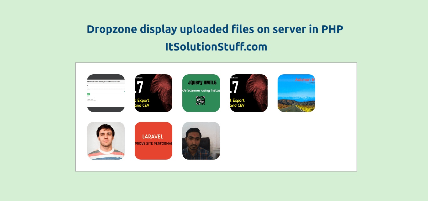 File Upload Tag - It Solution Stuff