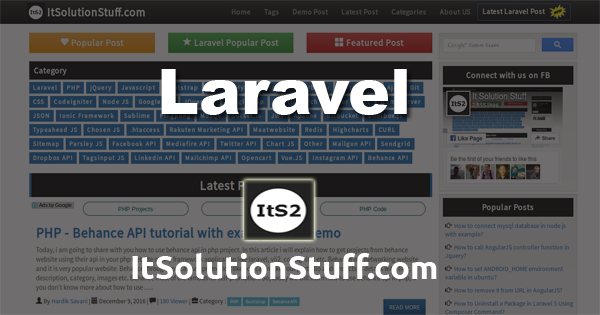 Laravel guzzle http client POST request example