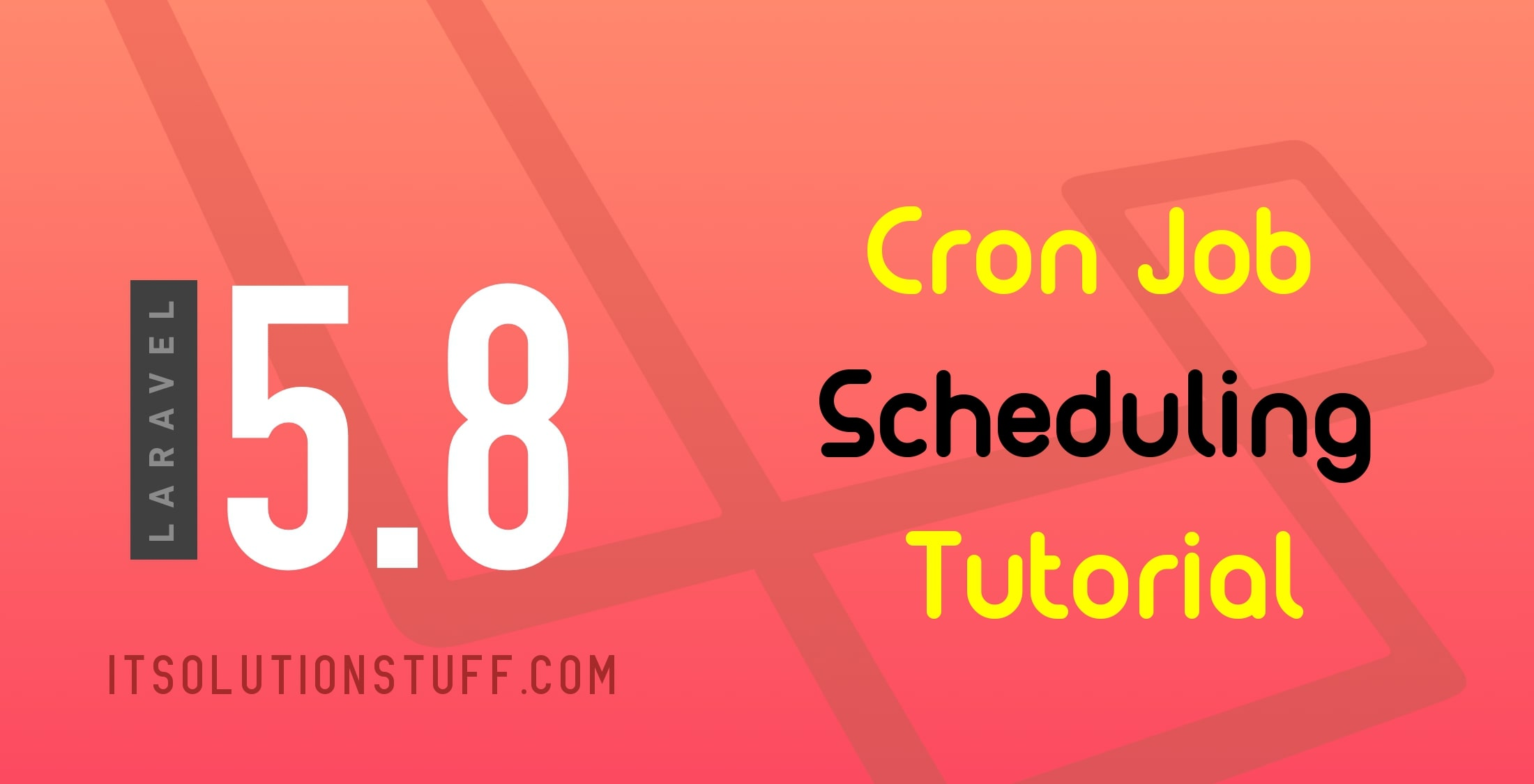 Task Scheduling with Cron Job in Laravel 5.8