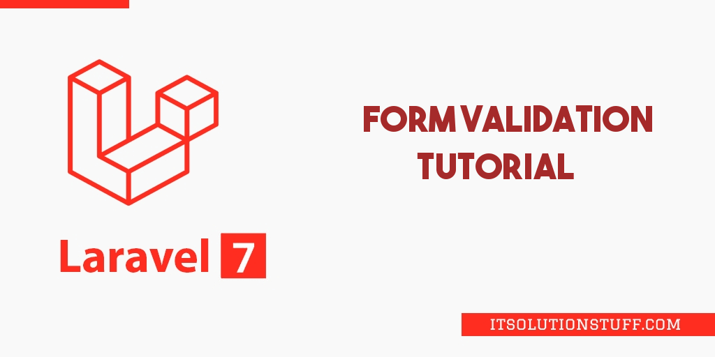 Laravel 7 Form Validation Tutorial