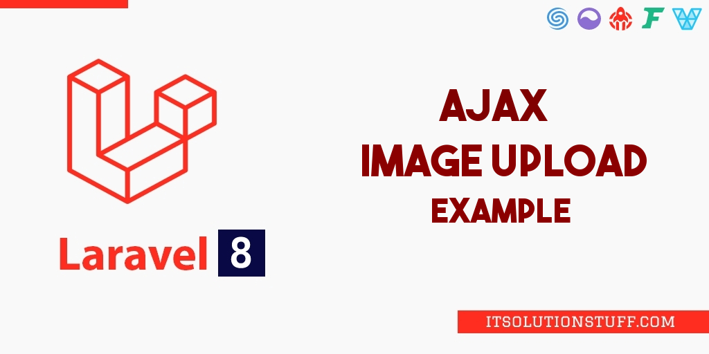 Ajax Image Upload Laravel 8
