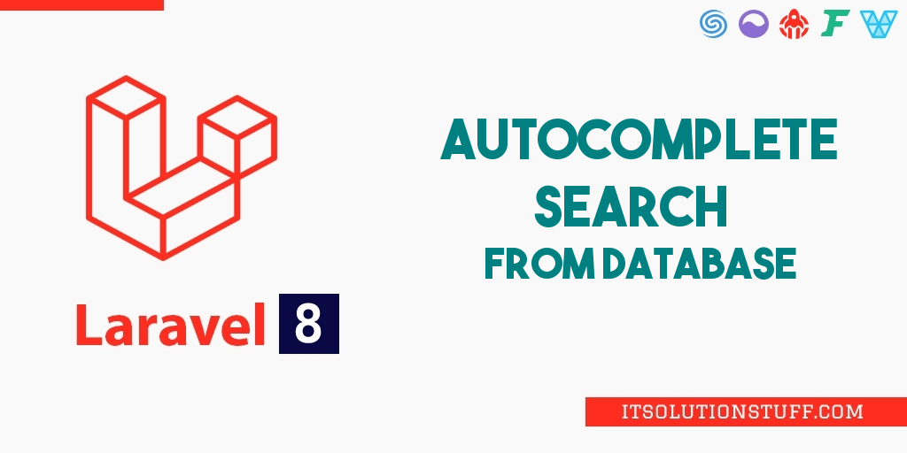 Laravel 8 Autocomplete Search from Database Example