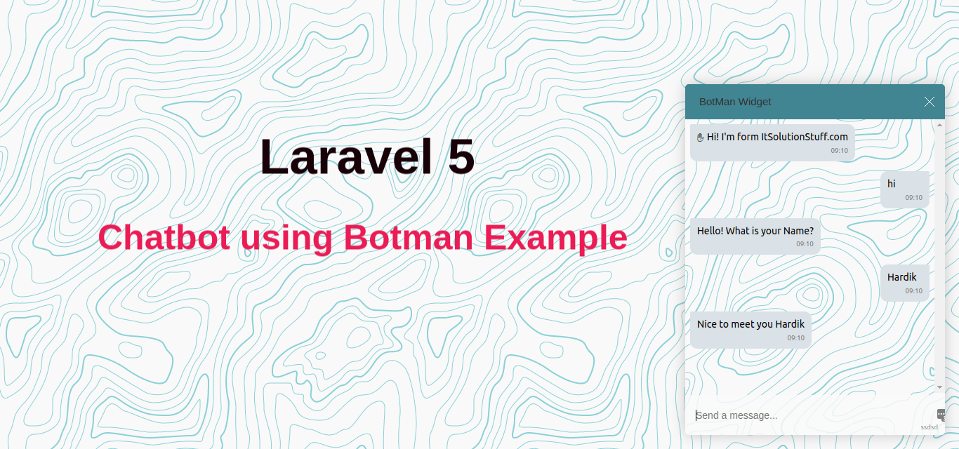 How to Install Botman Chatbot in Laravel 5?
