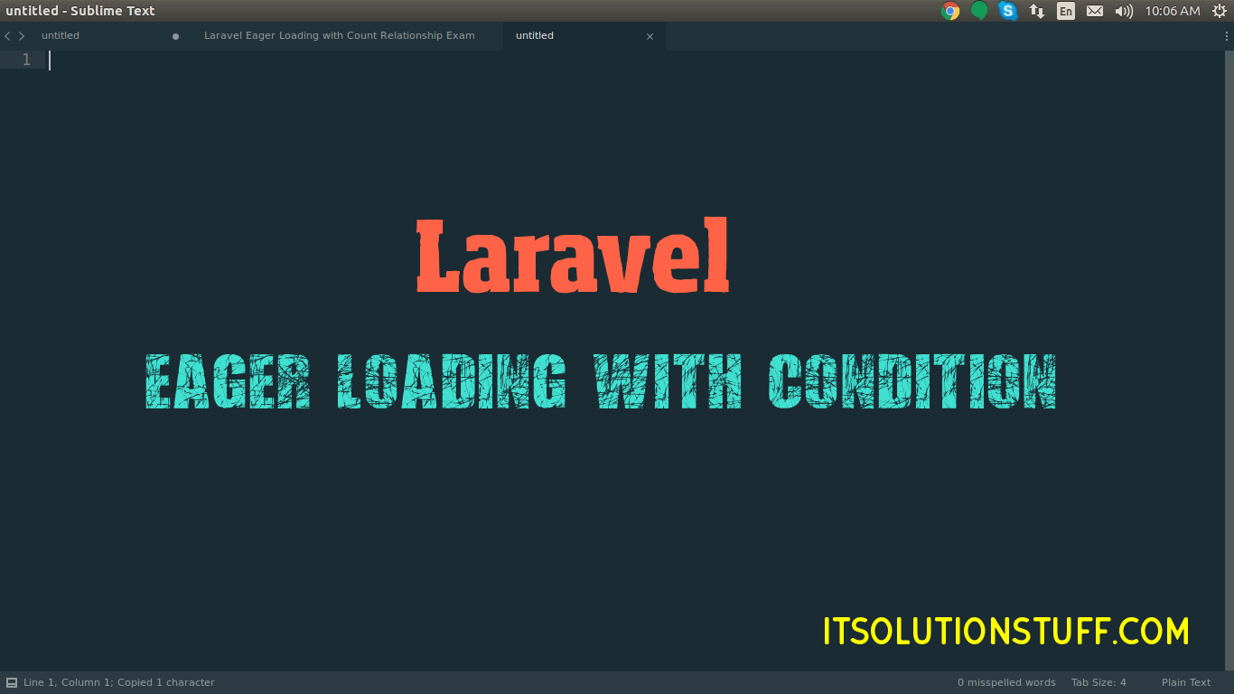 Laravel Eager Loading with Condition Relationship Example