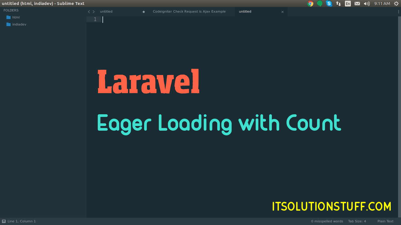 Laravel Eager Loading with Count Relationship Example
