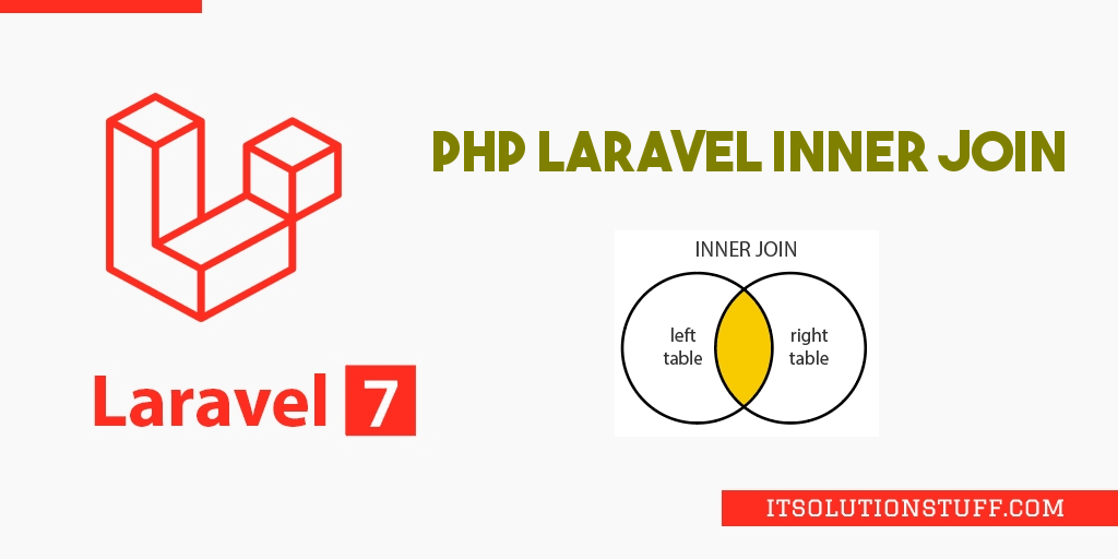 PHP Laravel Inner Join Query Example