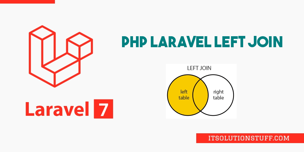 PHP Laravel Left Join Query Example