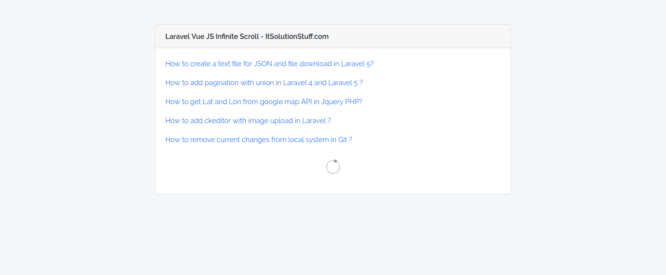 Laravel 5 3 Tag - It Solution Stuff